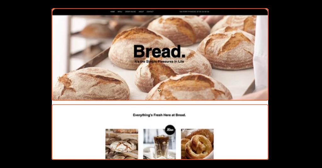 Layout Website: Bố cục trang web Với Dải Ngang (2)