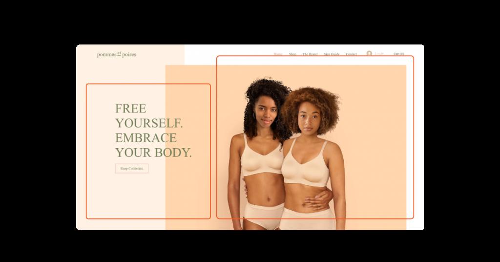 Layout Website: Bố cục trang web Bất đối xứng (2)
