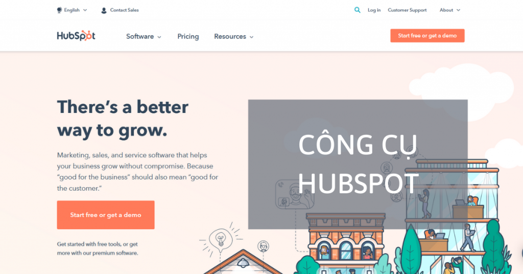 Nền tảng HubSpot là công cụ hỗ trợ phân tích, quản lý truyền thông mạnh mẽ