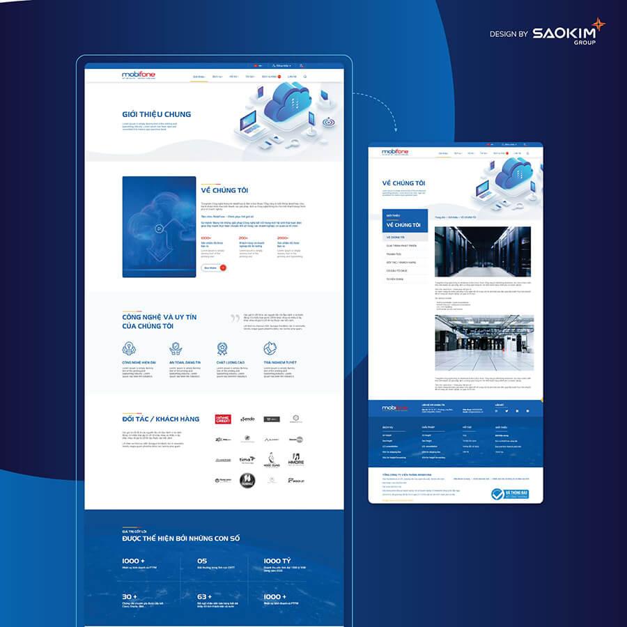 Thiết kế trực quan cho website