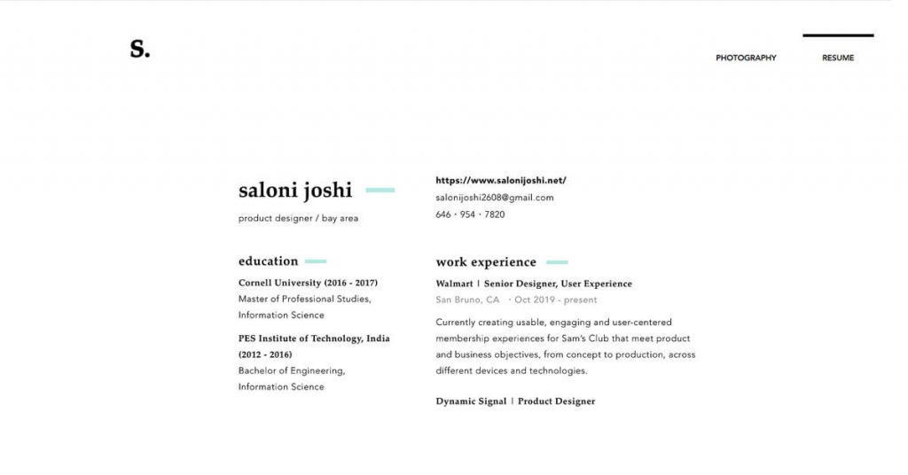 Bí quyết thiết kế website cá nhân từ các nhà thiết kế UX hàng đầu 8