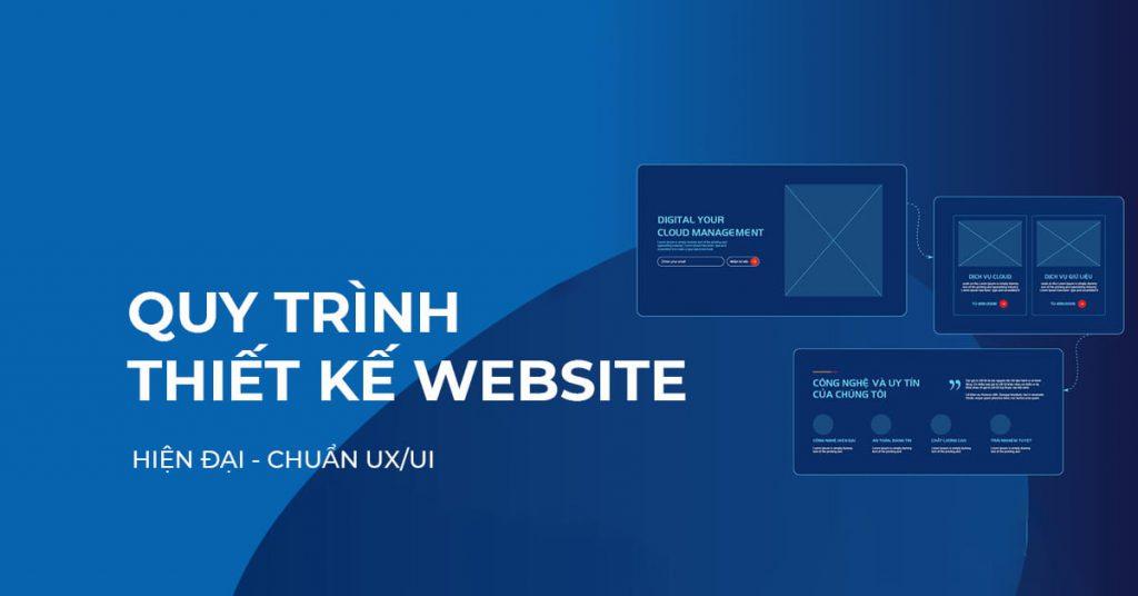Quy trình thiết kế website hiện đại